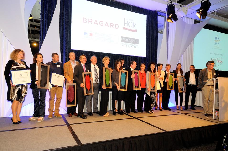 Lauréats 2015 Palmes de l'Hôtellerie Française