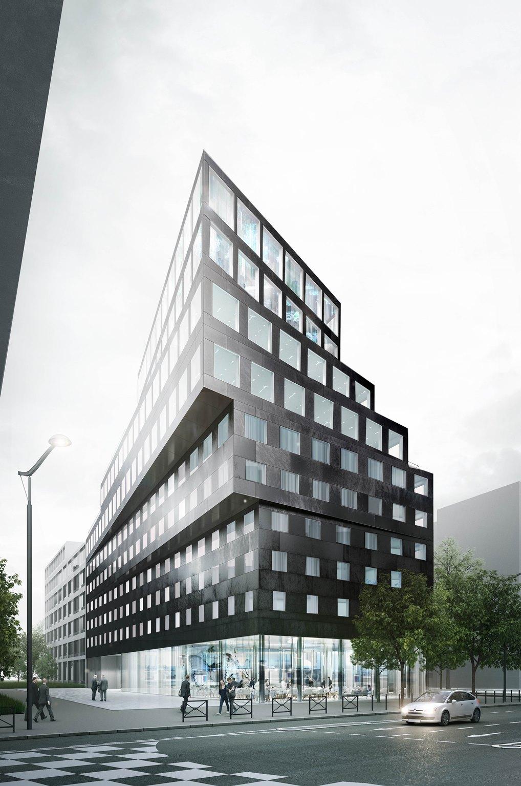 Perspective QUALYS-HOTEL PARIS PORTE DE MONTMMARTRE@ecdm - Copie