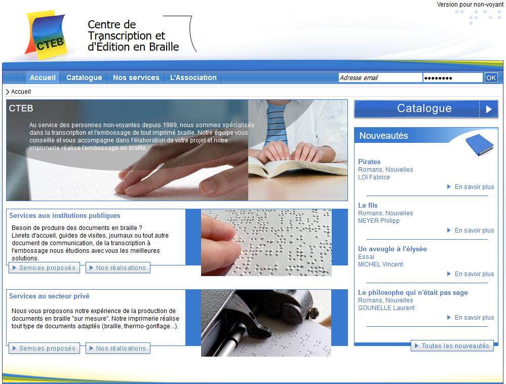 site CTEB