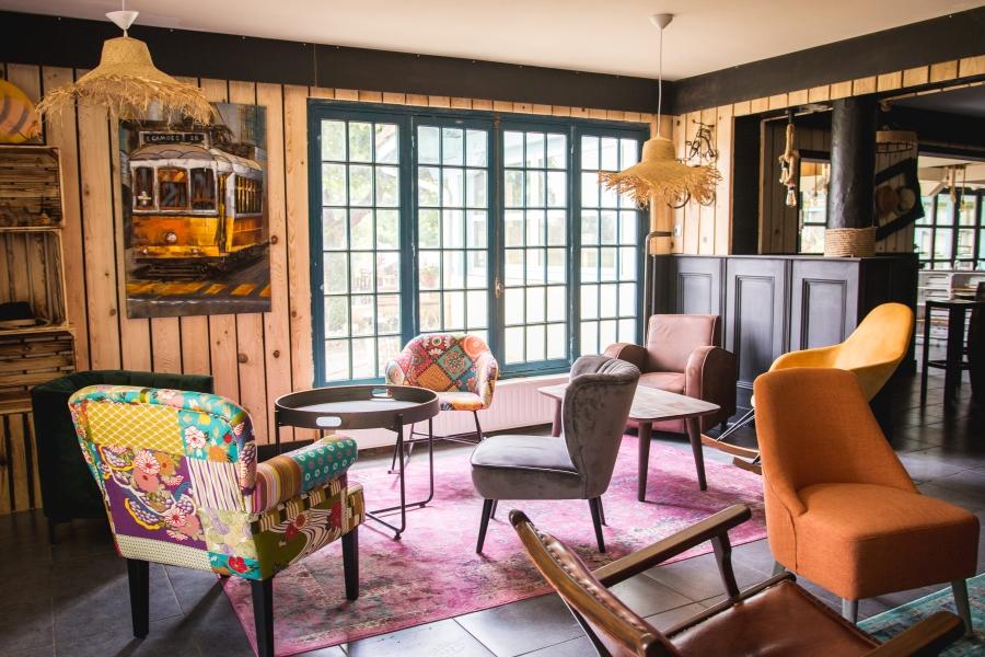 Whaka Lodge - salon des voyageurs